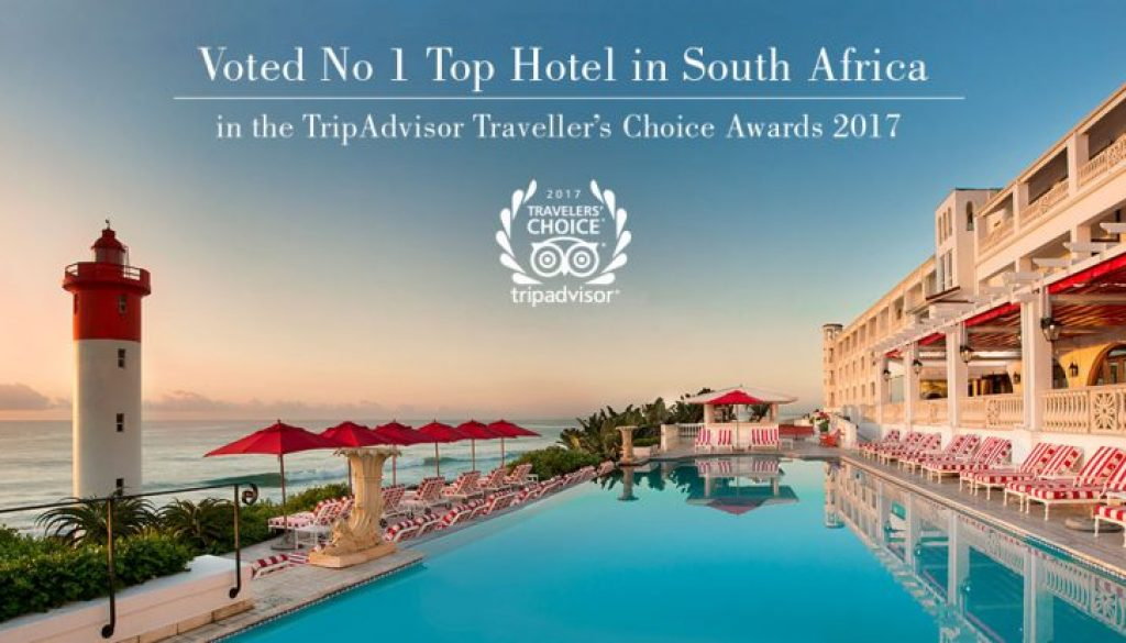 Number 1 hotel in South Africa