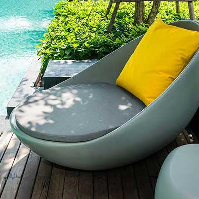 OUTDOOR FURNITURE, POOL