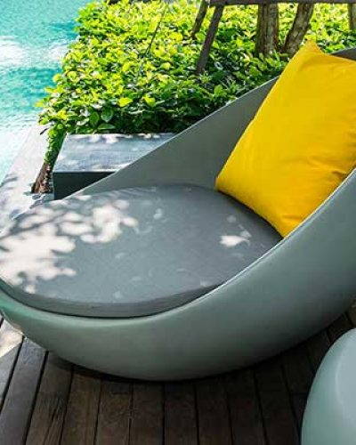 OUTDOOR FURNITURE, POOL & SPA
