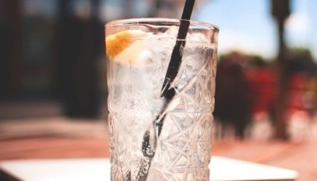 plastic straw in drink - its days are numbered
