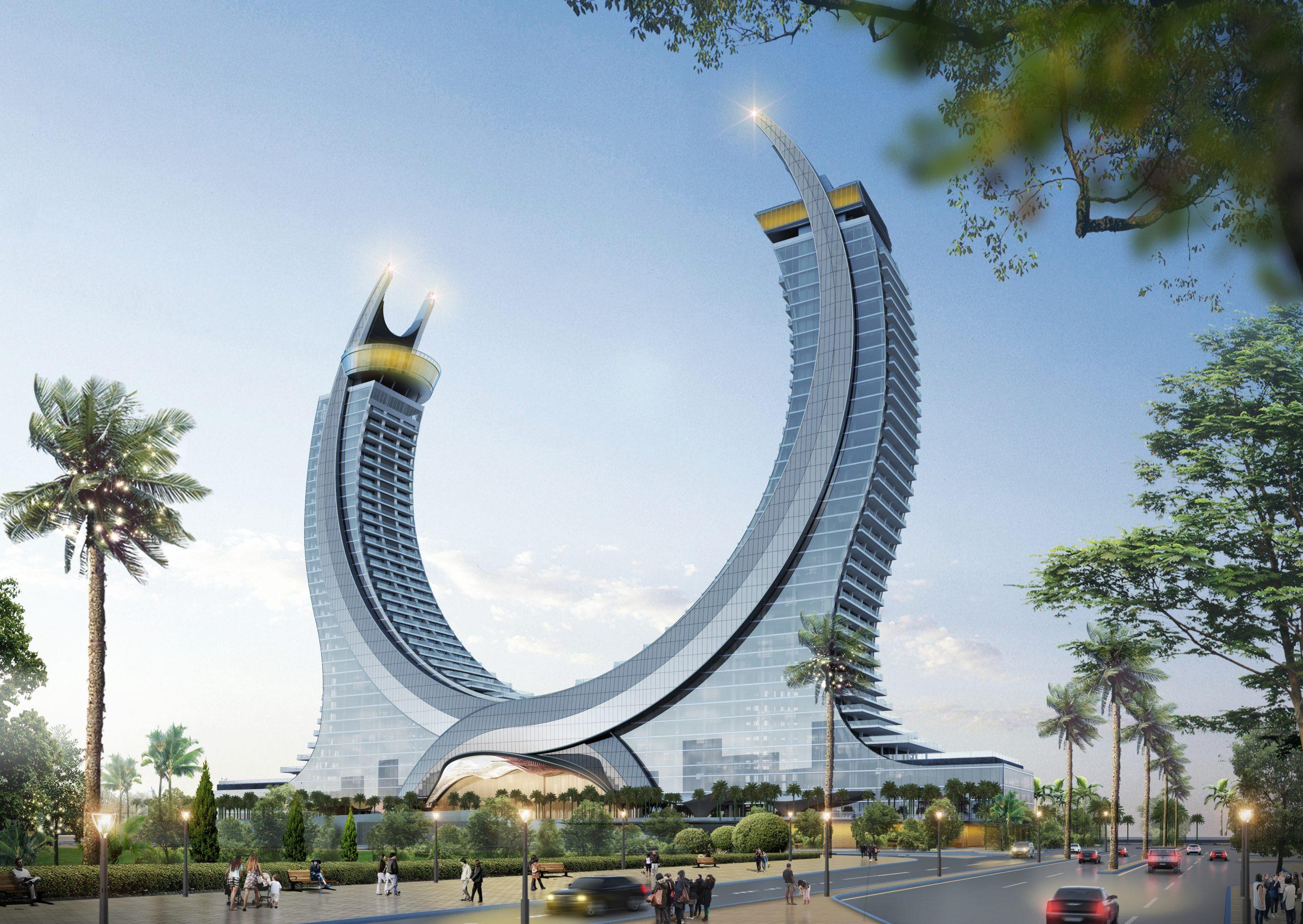 Fairmont & Raffles Lusail Hotel & Residences in Qatar.